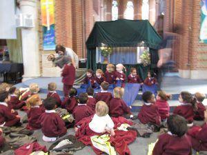 Puppet Show Park Hill School 8